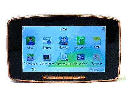 Сенсорный экран и удобное русское меню
