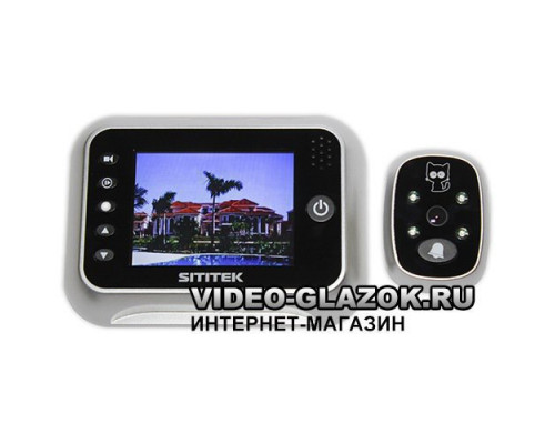 """Видеоглазок беспроводной SITITEK """"Simple"""""""