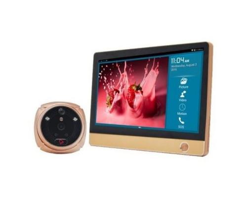 Беспроводная Wi-Fi / GSM сигнализация-видеоглазок «Страж iHome-4L» с видеокамерой
